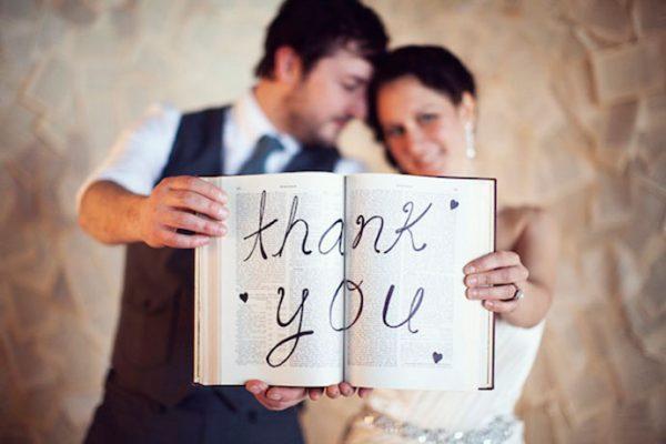 Remerciements mariés