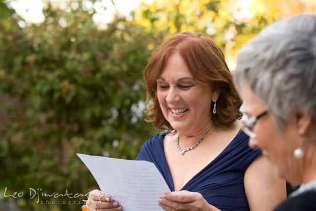Discours de la maman de la mariée © Leo Dj Photography