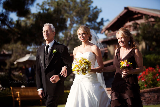 Entrée de la mariée © Luna Photo