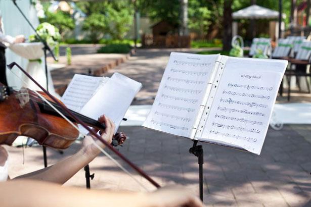 Musiciens mariage © 123RF.com