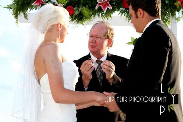 Maître de cérémonie © Leap Year Photography
