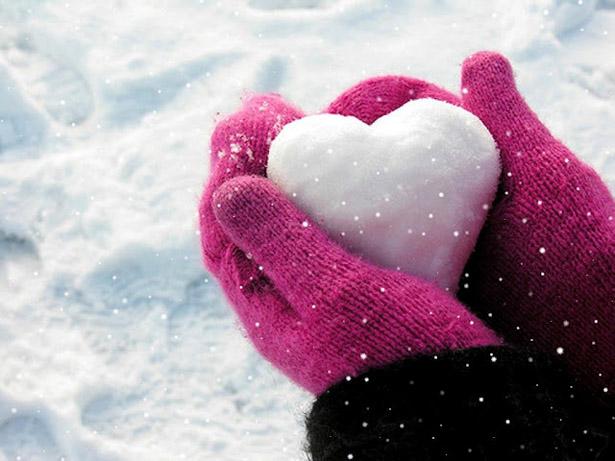 Coeur de neige © DR