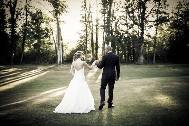 Mariés qui avancent © Trentième étage