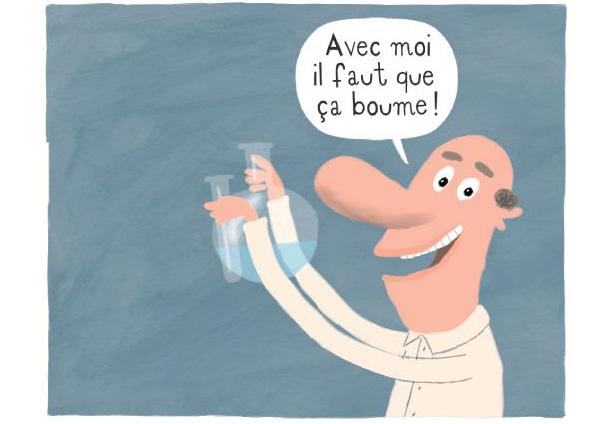 Expérience © Pronto / Archives Larousse