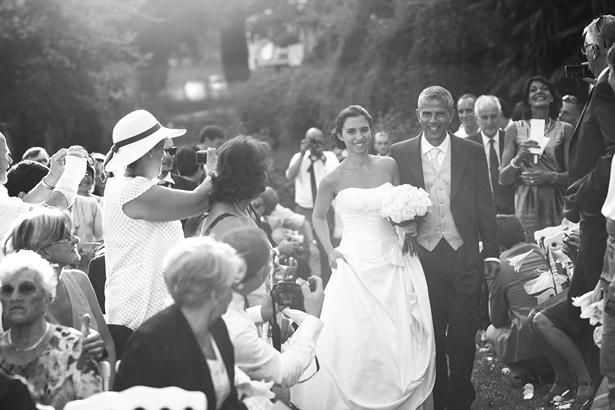 Anne-Sophie & Maxime (l'entrée de la mariée) © Jean-Louis Brun