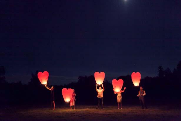 Lanternes volantes © Mademoiselle Fiona
