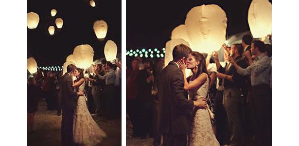 Lâcher de lanternes © Pearl Events Austin