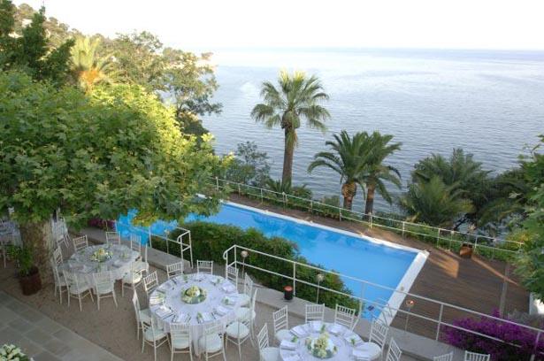 La terrasse © Résidence du Cap Brun