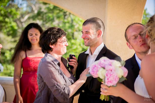 Julie & Pascal, les réactions © Fanny Tiara Photographie