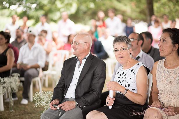 Roxanne & Guillaume (invités) © Something Wedding