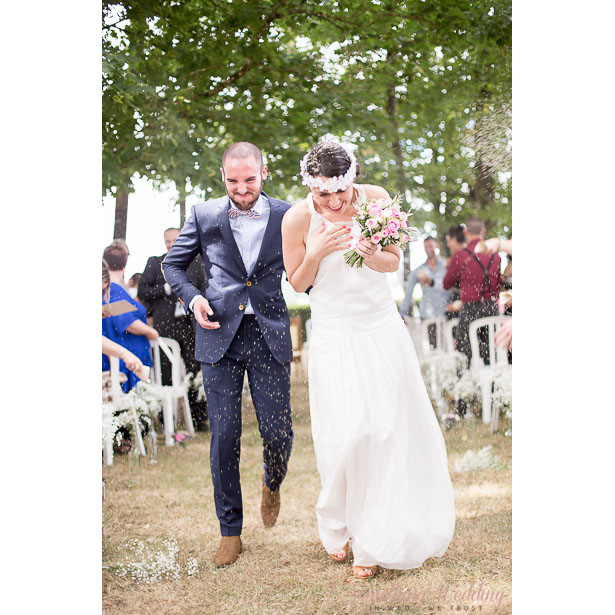 Roxanne & Guillaume (sortie) © Something Wedding