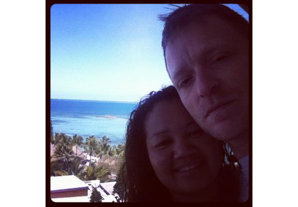Kristel et son mari © DR