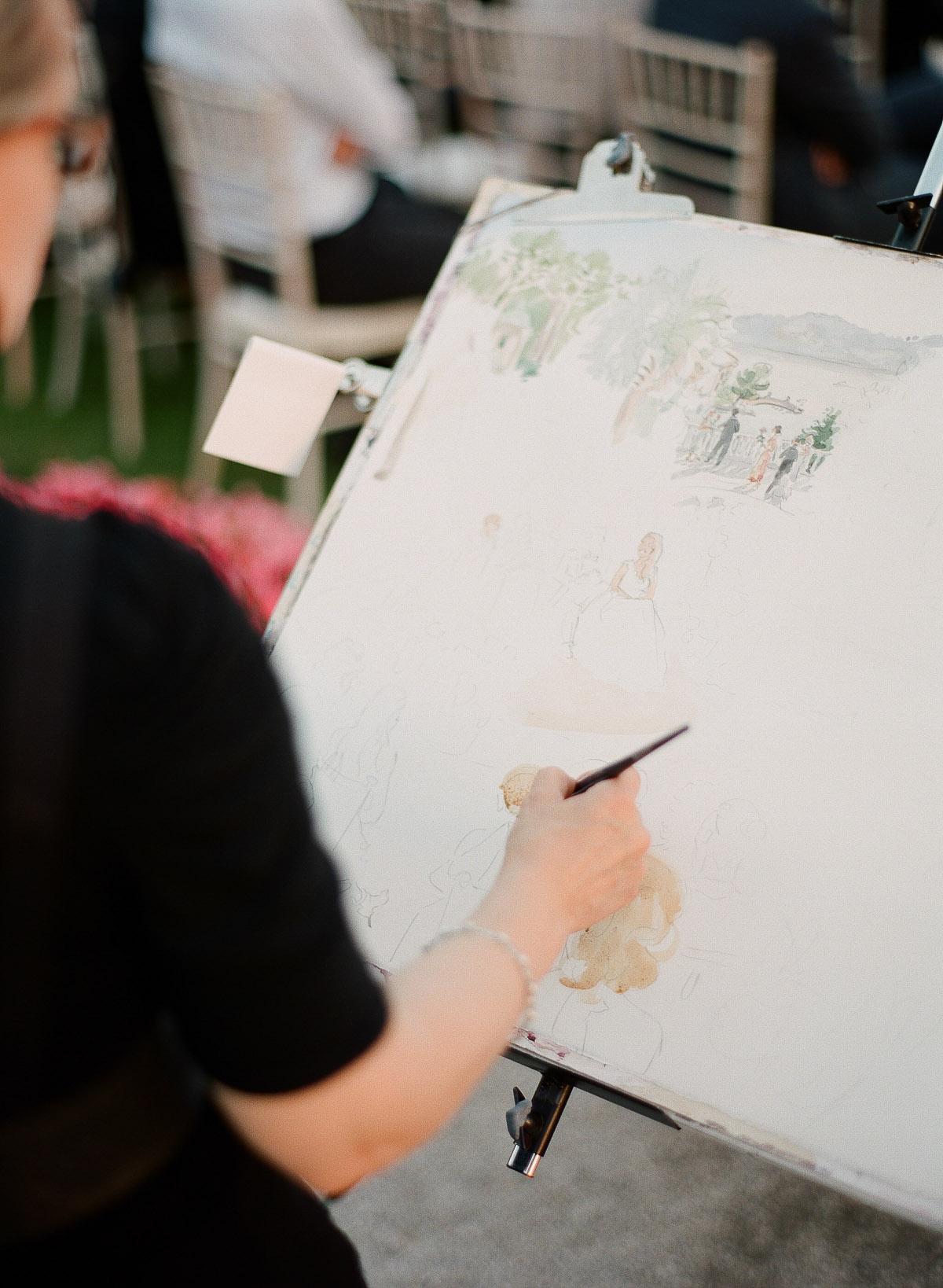 Live Painting Cérémonie © Greg Fynck