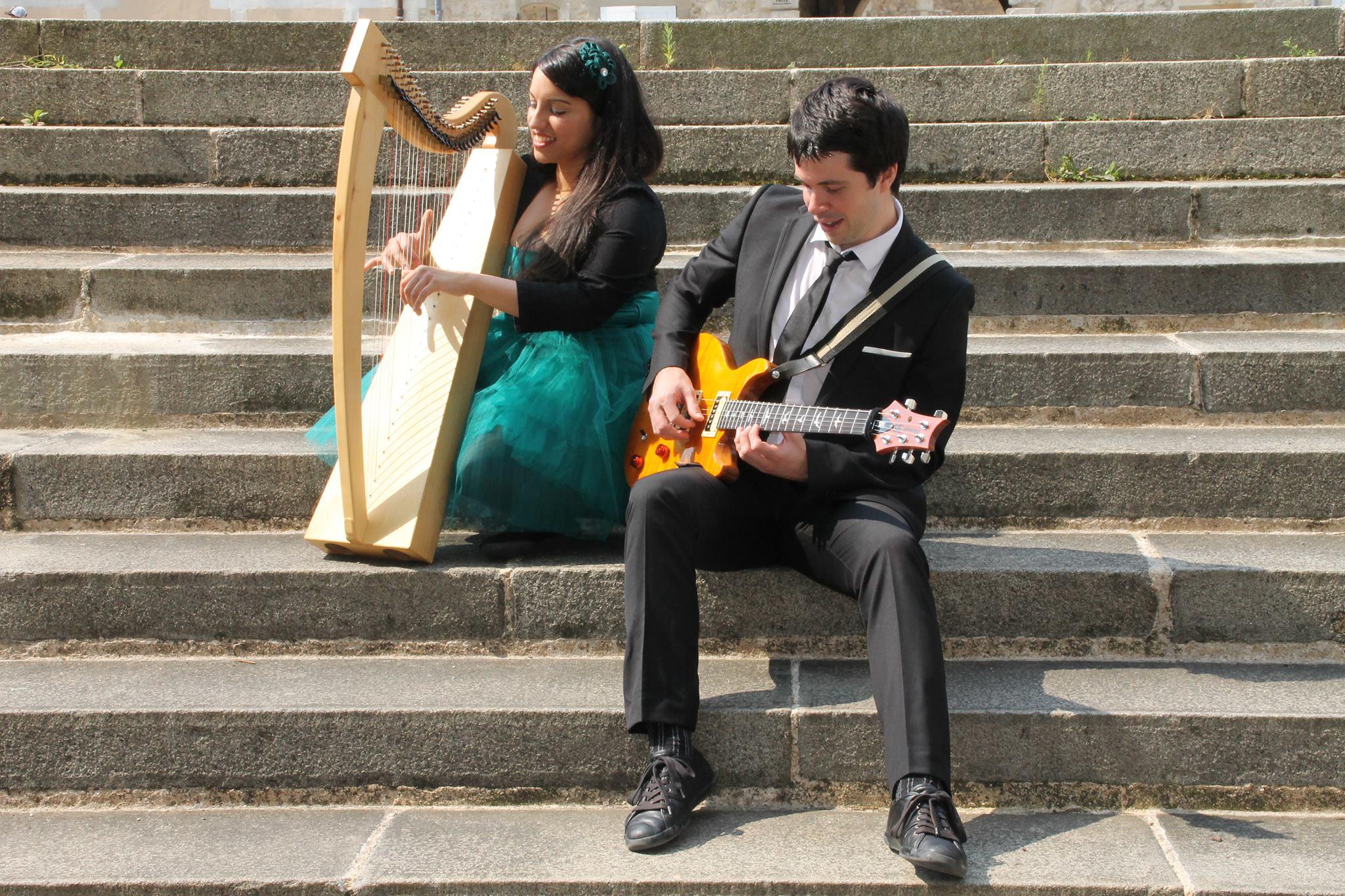 Harp and weddings (Musiciens cérémonie laïque)