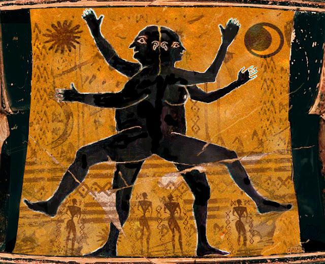 La légende des âmes sœurs par Aristophane (Platon)