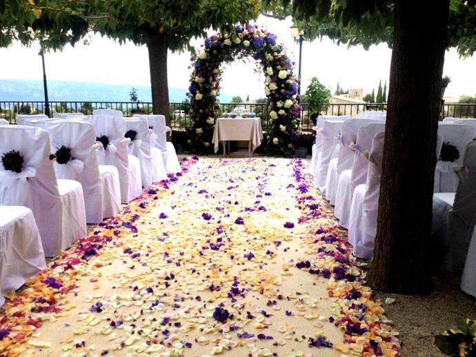Arche fleurie cérémonie laïque (2)