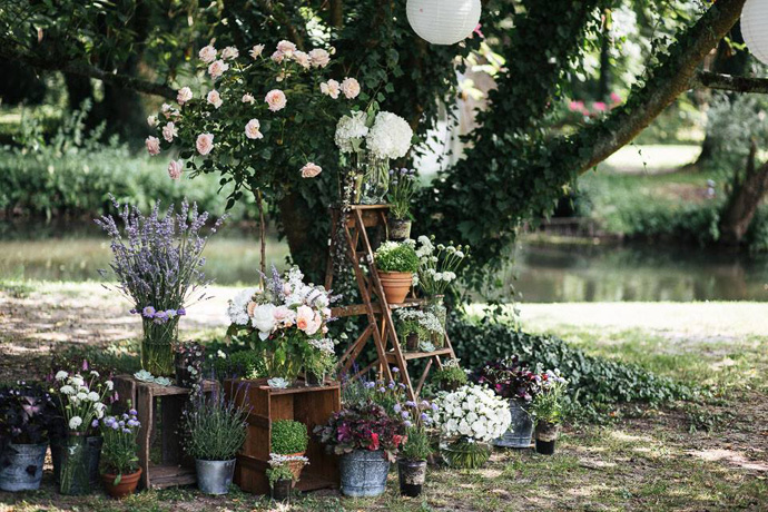 Décoration mariage par Madame Artisan Fleuriste