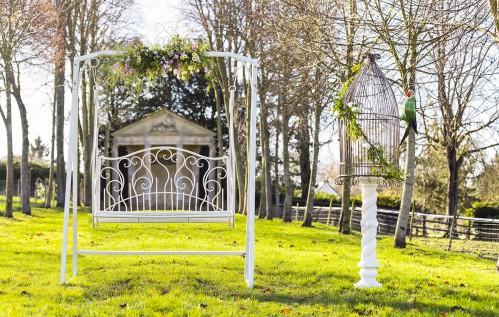 Arche balancelle French Antique Wedding
