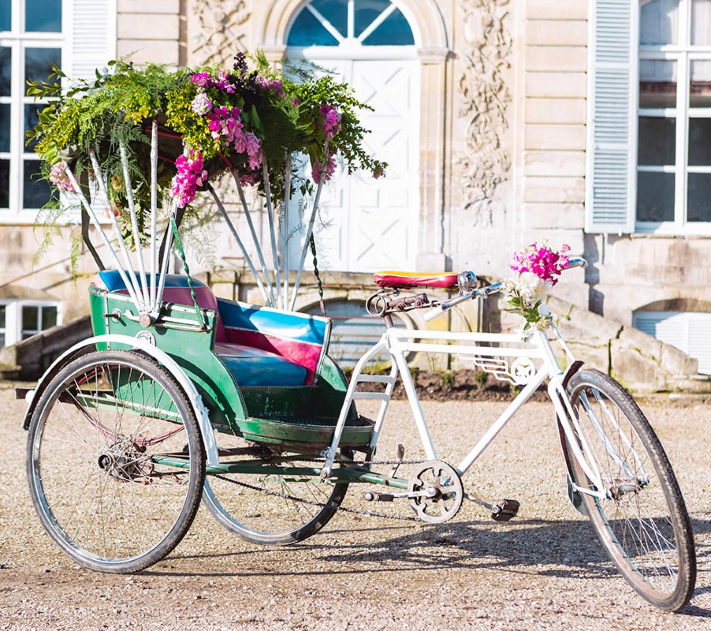 Jaipur Rickshaw French Antique Wedding