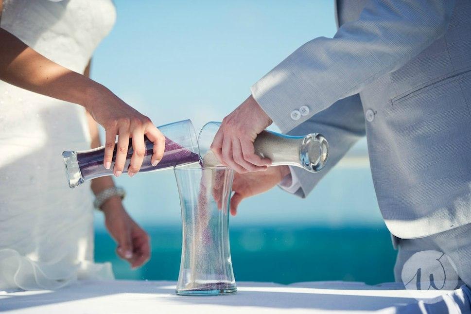 Rituel du sable pour cérémonie laïque