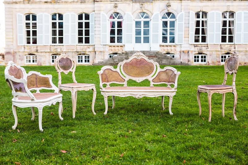 Salon impératrice French Antique Wedding