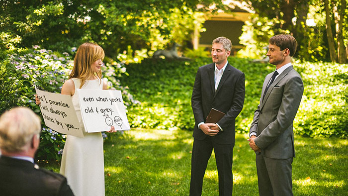 Vœux de mariage romantiques
