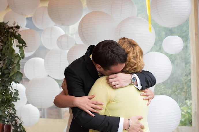 Emotion cérémonie laïque (Diane & Jean-Seb)