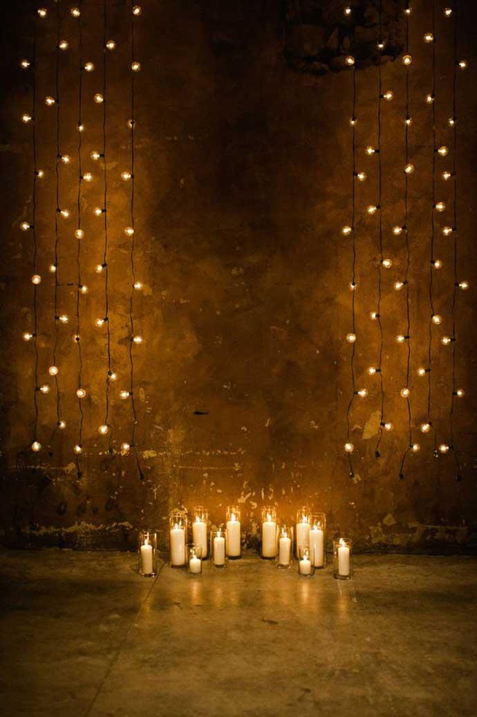 Déco cérémonie laïque de nuit