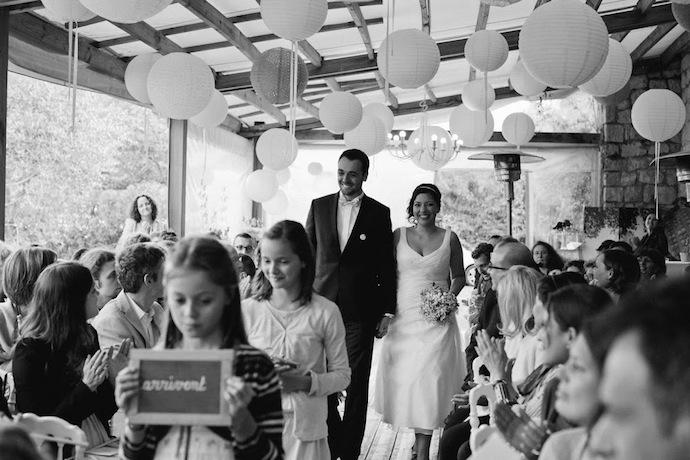Entrée des mariés cérémonie laïque (Diane & Jean-Seb)