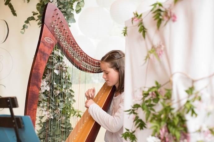 Harpe cérémonie laïque (Diane & Jean-Seb)