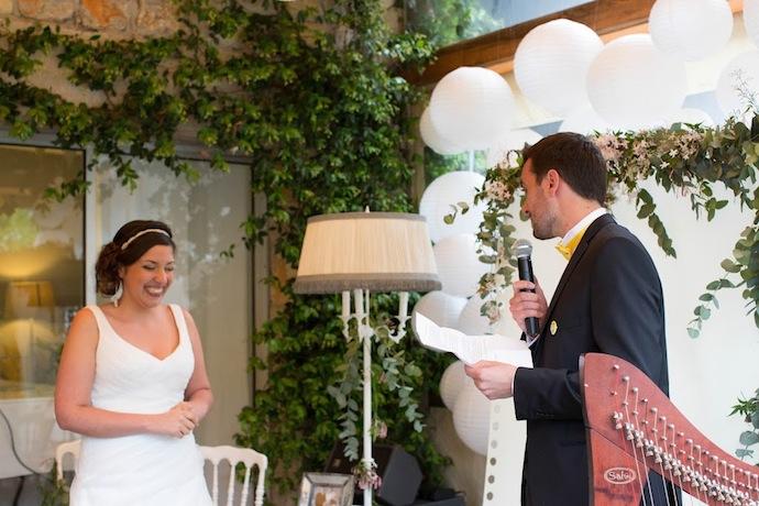 Voeux du marié cérémonie laïque (Diane & Jean-Seb)