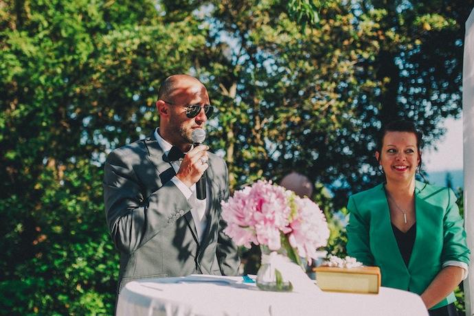 Discours du 3e frère du marié - Cérémonie laïque d'Alicia et Xavier