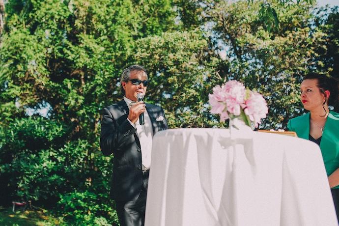 Discours du père de la mariée - Cérémonie laïque d'Alicia et Xavier
