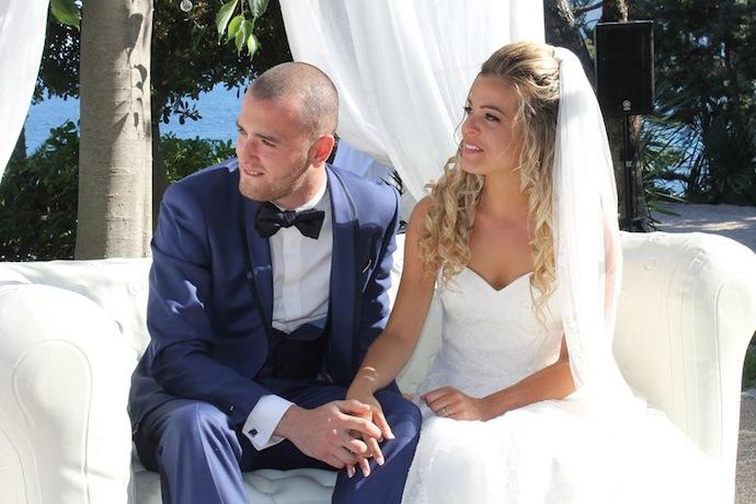 Mariés émus - Cérémonie laïque d'Alicia et Xavier