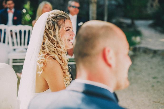 Bonheur des mariés - Cérémonie laïque d'Alicia et Xavier