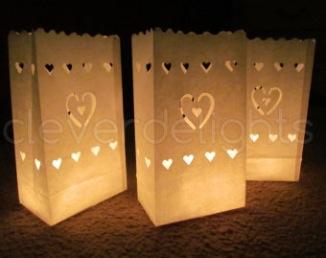 Sacs en papier pour bougies