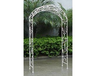 Arche blanche pour cérémonie laïque