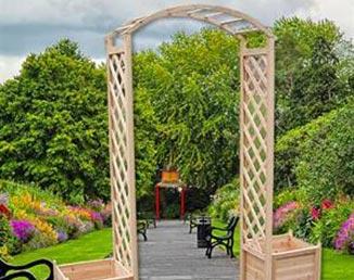 Arche en bois pour cérémonie laïque