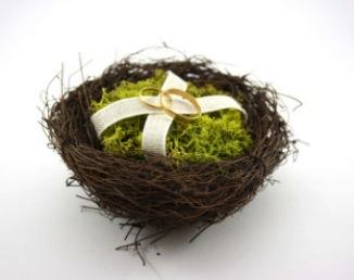 Nid pour alliances mariage