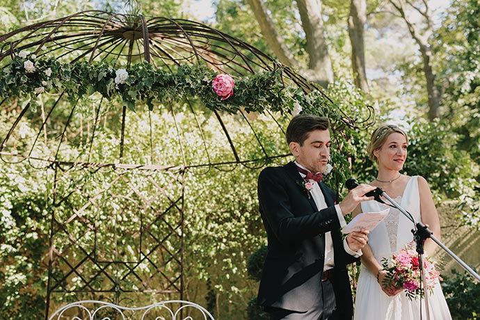 Intro des mariés - Cérémonie laïque de Caroline et Eric