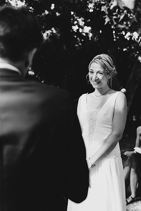 Vœux du marié - Cérémonie laïque Caroline et Eric