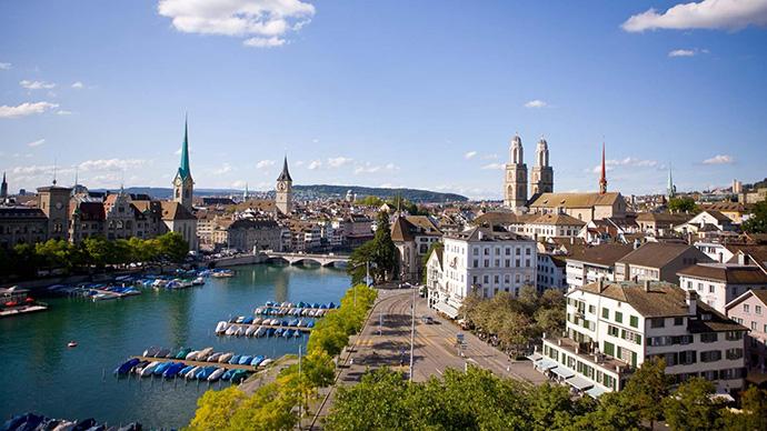 Zürich en Suisse © Zuerich.com