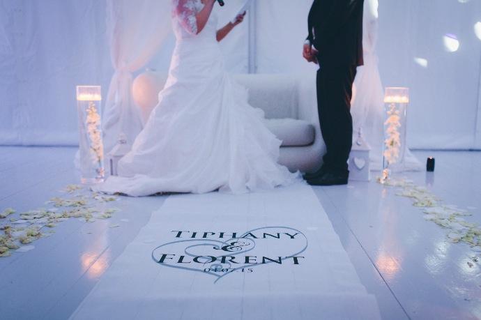 Vœux de la mariée - cérémonie laïque Tiphany & Florent © THE cérémonie / Mélanie Tuero Photographe