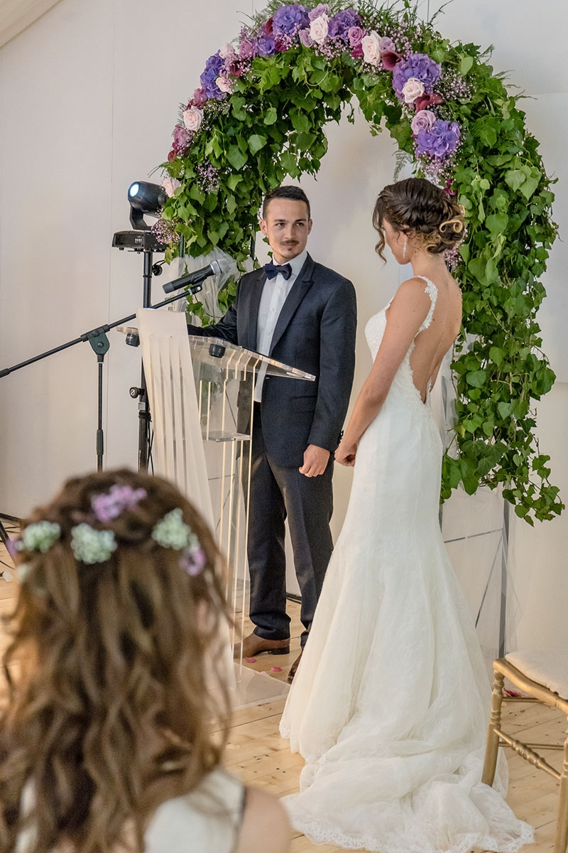 Vœux du marié (Cérémonie laïque d'Amélie et Antoine)