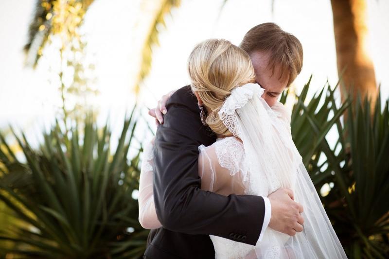 Emotion pendant notre échange de vœux - THE cérémonie (Nolwenn et Henri)