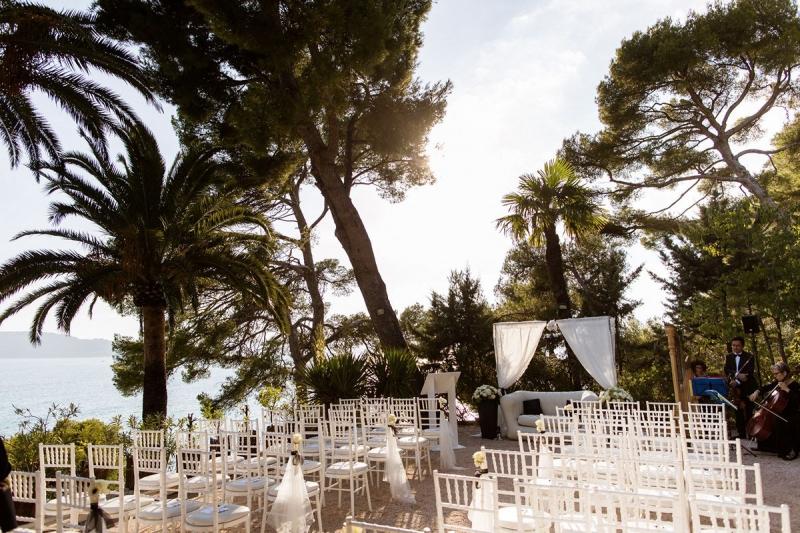 Cérémonie laïque au Cap Brun - THE cérémonie (Nolwenn et Henri)