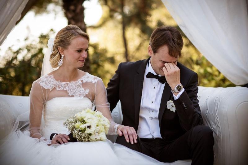 Emotion pendant notre cérémonie laïque - THE cérémonie (Nolwenn et Henri)