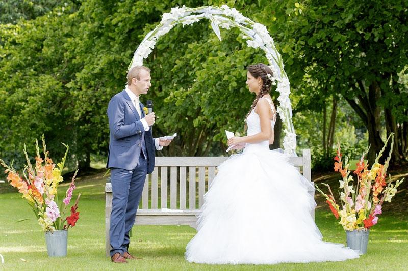 Echange de voeux du marié - Cérémonie laïque