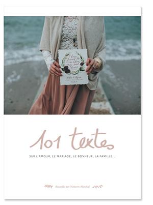 Livre : 101 textes pour votre cérémonie laïque