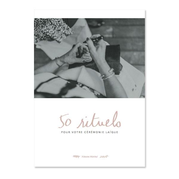 """Couverture du livre """"50 rituels pour votre cérémonie laïque"""""""